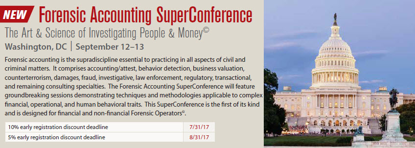 Forensic Accounting SuperConference