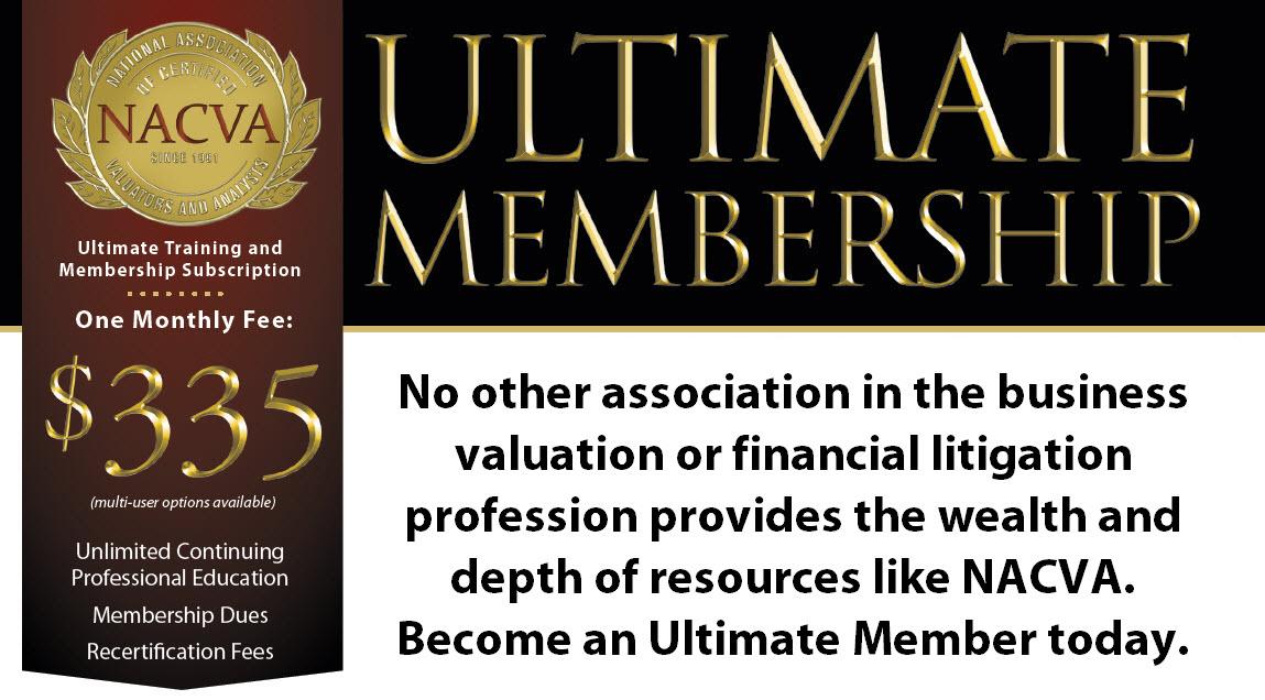 NACVA's Ultimate Membership